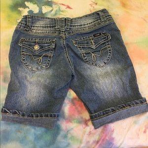 Denim Bermuda Shorts Size 1