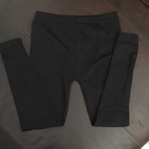 Pants - Maternity Fleece Lined Leggings