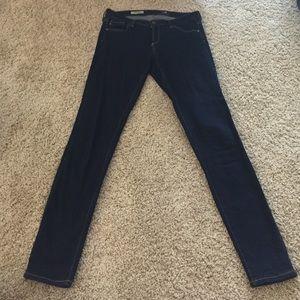 "AG Jeans ""The Legging"" super skinny dark wash"