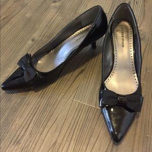 Adrienne Vittadini Black Leather