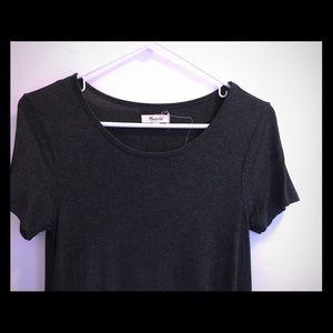 Madewell dark gray dress. XS.