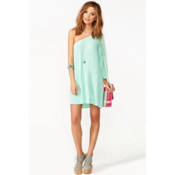 ec361fecb684 Nasty Gal Dresses | Nastygal Mint Green Mini Dress | Poshmark