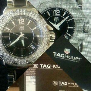 Tag Heuer Jewelry - Tag Heuer special edition Diamond bezel watch