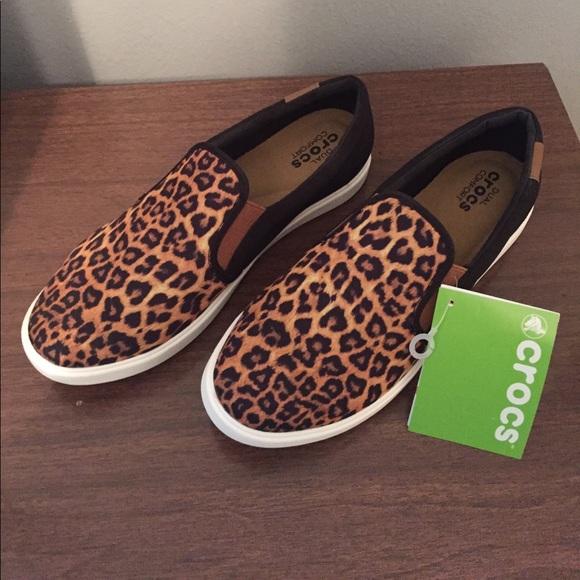 CROCS Shoes   Crocs Leopard Print And