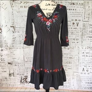 Johnny Was Dresses & Skirts - Johnny Was cotton 3/4 sleeve embroidered dress S