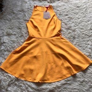 SALE‼️Ted Baker Preeny Orange Skater Dress