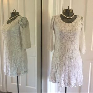 H&M Dresses & Skirts - White Lace Divided by H&M Dress