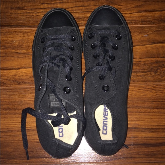 9a39ec5e277d ... size 5. Converse Shoes - ALL black CONVERSE chuck Taylor s men s ...