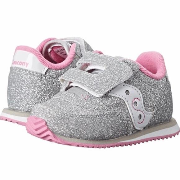 Kids Saucony Glitter Jazz Sneakers