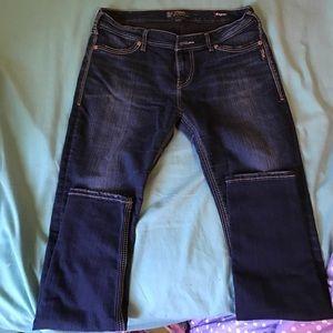 Silver Jeans Denim - Dark wash Silver skinny jeans