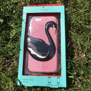 kate spade Accessories - Kate spade iPhone 6 black swan new phone case