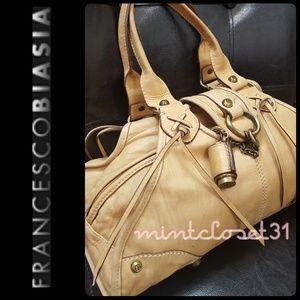 Francesco Biasia Handbags - Francesco Biasia Leather Satchel