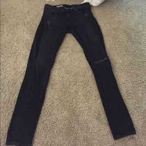 """AG Jeans """"the legging"""" super skinny black"""