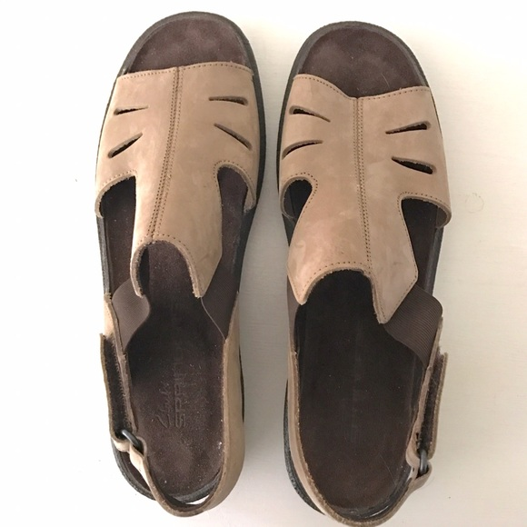 Cool Clarks - Clarks Springers Sandals Brown 8 M Leather From Seniliau0026#39;s Closet On Poshmark