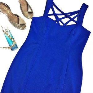 Eliza J Dresses & Skirts - Eliza J Cross Strap Dress