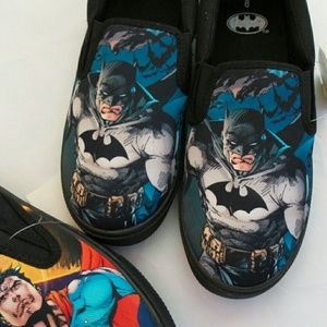 Batman Other - COMING SOON NWT 8-13 Batman slip-on sneakers