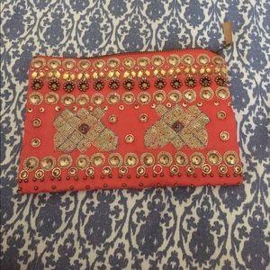 Anthropologie Handbags - NWT Anthropologie beaded zip pouch