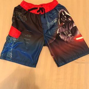 Star Wars Other - Star Wars Swim Trunks Size 7 EUC Make Offer⛱⛱🐠🐟