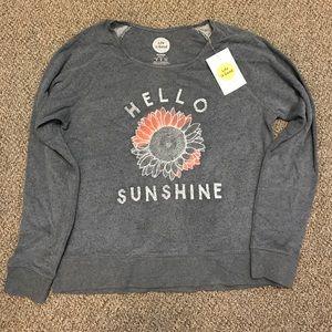 Life is Good, Hello Sunshine cute Sweatshirt!!☀️