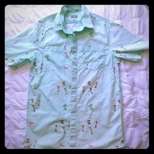Altamont Other - Altamont Short Sleeve Button Down w/ Fun Print