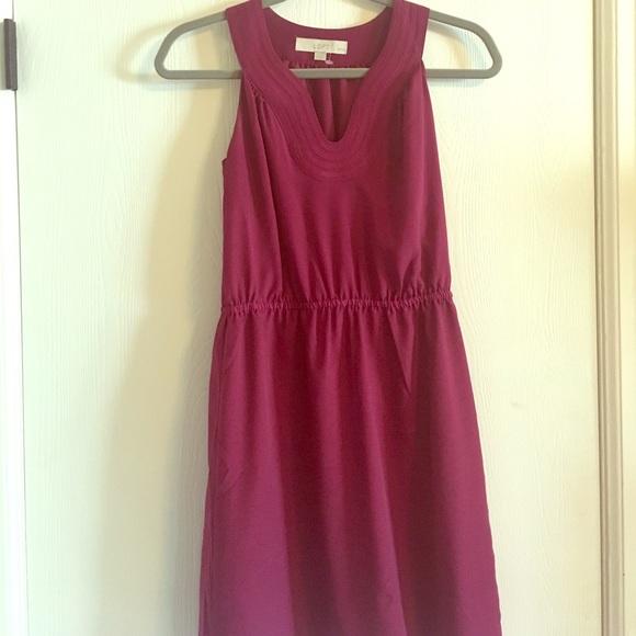 70% off LOFT Dresses & Skirts - Ann Taylor Loft Orchid ...