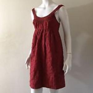 BCBG Dresses - BCBG Rust Boho dress with pockets!