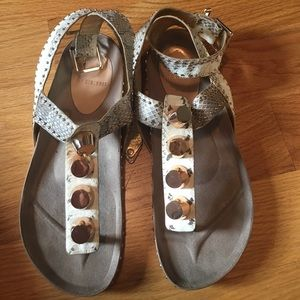 ivy kirzhner Shoes - Ivy Kirzhner New York natural snake sandals