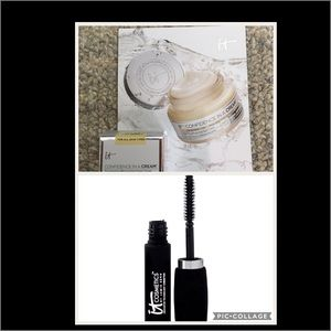 It Cosmetics Other - Travel size Hello Lashes and Confidence in a Cream