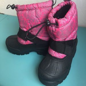 Northside Other - Brand New Girls Pink Snow Boot Toddler size 8
