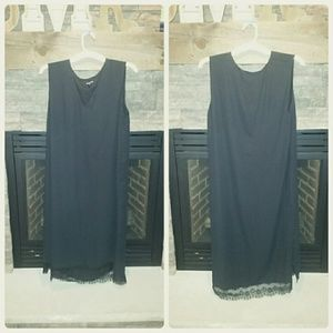 Who What Wear Dresses & Skirts - LACE accent Black Dress