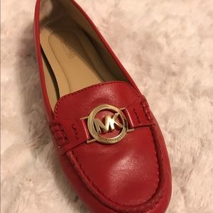 MICHAEL Michael Kors Shoes - Michael Koes Red Loafers -Size 7 - worn once!