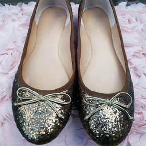 BANANA REPUBLIC Bronze Ballet Flats Size 7