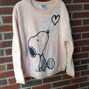 Peanuts Tops - Super soft...Snoopy blanket sweatshirt