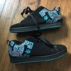 DC Shoes - 💥DC skater shoes, sneakers, black, floral