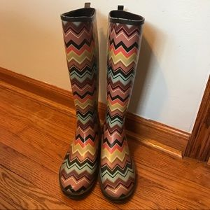 Missoni for Target Shoes - Missoni for Target rain boots