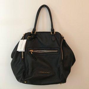 Liebeskind Handbags - NWT Liebeskind coated canvas purse in BLACK