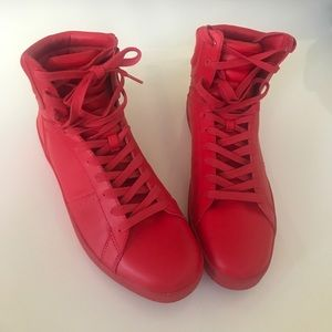 Zara Other - Zara Men's Red Shoes