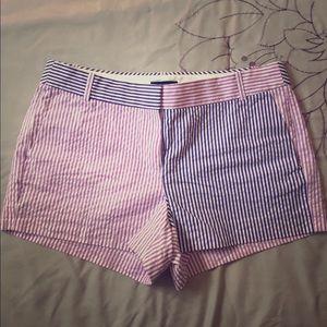 SALE 🌟 NWOT J Crew seersucker shorts - color pop!