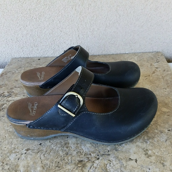 b81b96b647 Dansko Shoes - Dansko Martina Leather Mary Jane Clogs 39