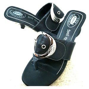 NEW❗️DR SCHOLLS Black Heeled Sandals