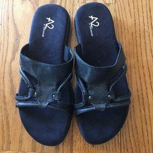A2 By Aerosoles Shoes - A2 aerosoles wip current black sandals