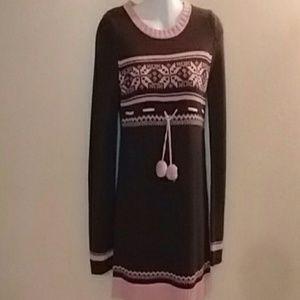 Retro Pom Pom Sweater