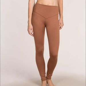 Olympia Activewear Mateo Leggings in Rust - Small