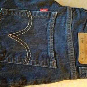 Levi's 510 Blue Jeans