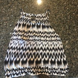 New York & Company Tops - Sale today only!!!! Cute zebra looking tank!