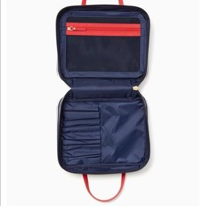40110ee037c kate spade Bags   Classic Nylon Minna Makeup Cosmetic Bag   Poshmark