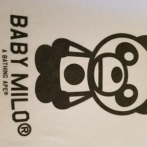 Baby Milo / Bape t-shirt
