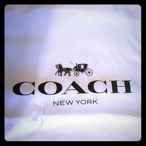 Coach Handbags - Large Coach Dust bag