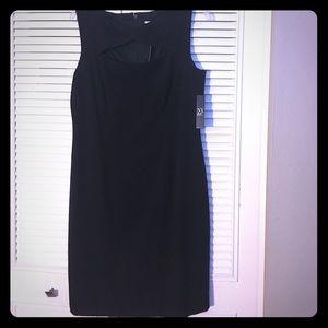 NY&Co black dress 12 with peephole chest hot!!