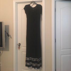 INC International Concepts Dresses & Skirts - NWOT. INC. black and tye dye maxi dress. Hemmed.